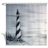 Cape hatteras lighthouse Shower Curtains