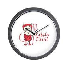 LITTLE DEVIL Wall Clock