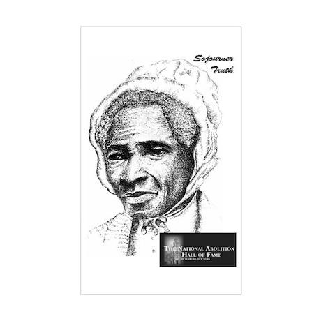 Sojourner Truth Rectangle Sticker