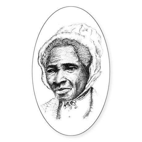 Sojourner Truth Oval Sticker