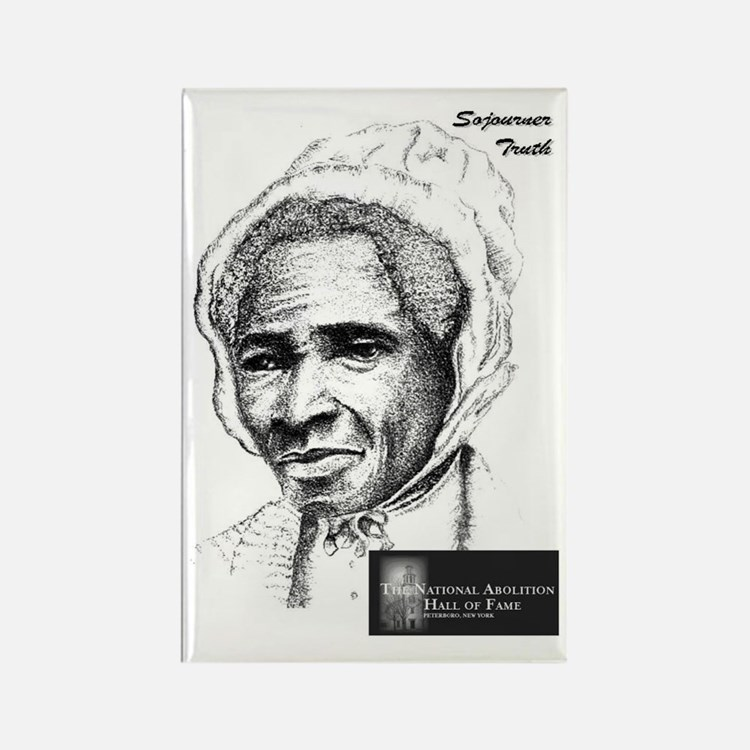 Sojourner Truth Rectangle Magnet