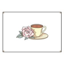 COFFEE AND ROSE Banner