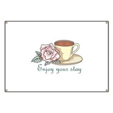 ENJOY YOUR STAY Banner