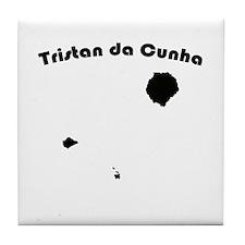 Tristan da Cunha Tile Coaster