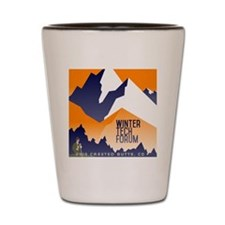 WTF Mountain Shot Glass