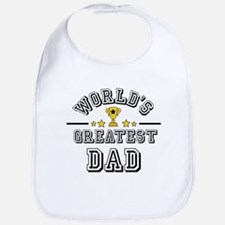Worlds Greatest Dad Bib