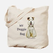 Fox Terrier Doggie Bag Tote Bag
