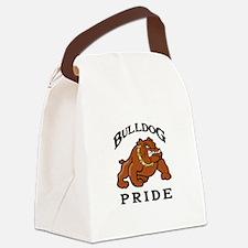 BULLDOG PRIDE Canvas Lunch Bag
