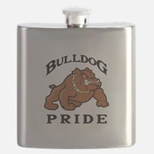 BULLDOG PRIDE Flask