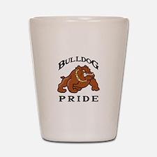 BULLDOG PRIDE Shot Glass