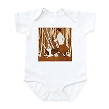 THROUGH THE WOODS Infant Bodysuit
