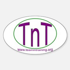 TnT Circle Oval Decal