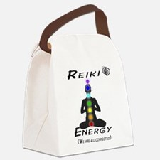 Reiki Energy all connected Canvas Lunch Bag