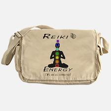 Reiki Energy all connected Messenger Bag