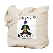 Reiki Energy all connected Tote Bag