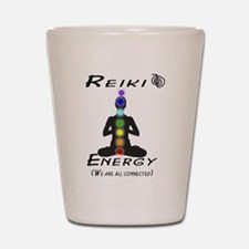 Reiki Energy all connected Shot Glass