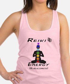 Reiki Energy all connected Racerback Tank Top
