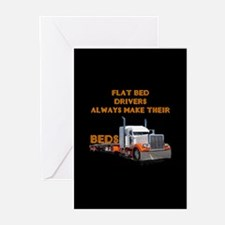 Flat Bed Drivers Greeting Cards (Pk of 10)
