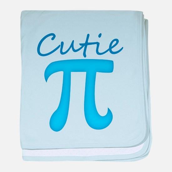 Cutie Pi baby blanket