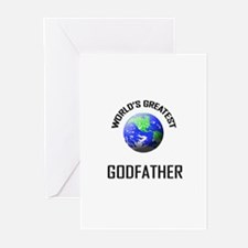 World's Greatest GODFATHER Greeting Cards (Package