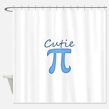 Cutie Pi Shower Curtain