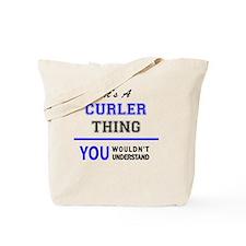 Cute Curler Tote Bag