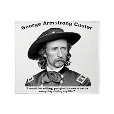 Custer: Battle Throw Blanket