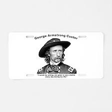 Custer: Battle Aluminum License Plate
