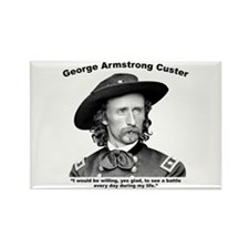 Custer: Battle Rectangle Magnet
