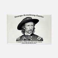 Custer: Battle Rectangle Magnet