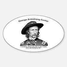 Custer: Battle Decal