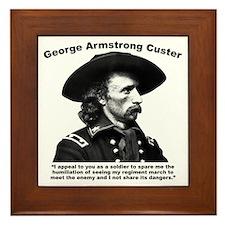 Custer: Humiliation Framed Tile