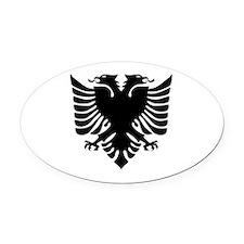 Unique Albanian Oval Car Magnet