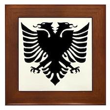 Unique Albanian Framed Tile