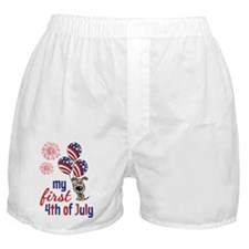 My First 4th of July Boxer Shorts