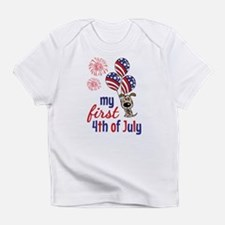 My First 4th of July Infant T-Shirt