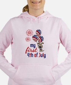 My First 4th of July Women's Hooded Sweatshirt