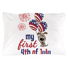 My First 4th of July Pillow Case