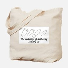 Evolution of Authority Tote Bag