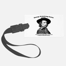 Custer: Defeat Luggage Tag