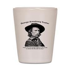 Custer: Defeat Shot Glass