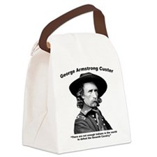 Custer: Defeat Canvas Lunch Bag