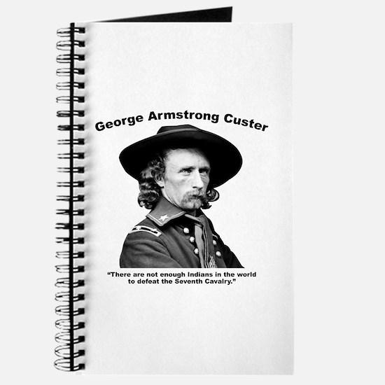 Custer: Defeat Journal