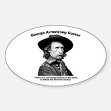 Custer: Defeat Decal