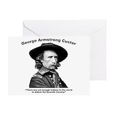 Custer: Defeat Greeting Card