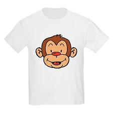 Brown Monkey Kids T-Shirt