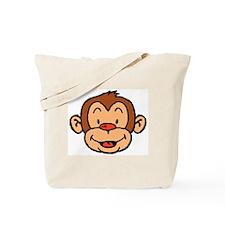 Brown Monkey Tote Bag