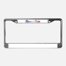Boricua Babe License Plate Frame