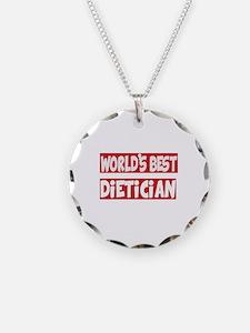 World's Best Dietician Necklace