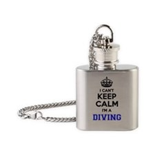 Cool Calm dive Flask Necklace